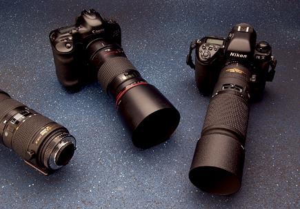 Lens 200mm Nikon 200mm Micro-nikkor Lens